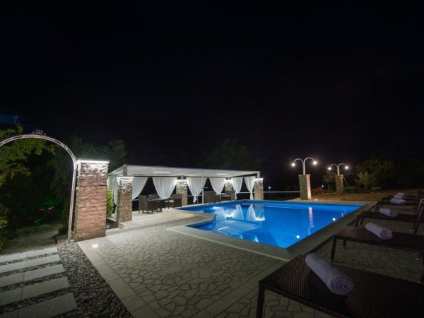 holiday home Medo Drinovci Grude luxury villa with swimming pool - enjoy fresh summer nights by pool