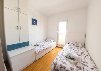 Mostar Apartman Orca - Konforman stan sa blakonom u blizini Mepass Mall - Soba sa krevetima za jednu osobu 2