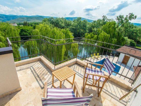 vila-verde-blagaj-mostar-garden -open-pool-river-buna -1