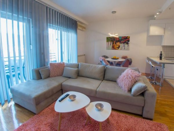 Apartmani Mostar - Apartman Infinity - Dvosoban stan u neposrednoj blizini Starog Grada - Dnevni boravak 2