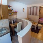 Studio Apartman Elegant Mostar kitchen area
