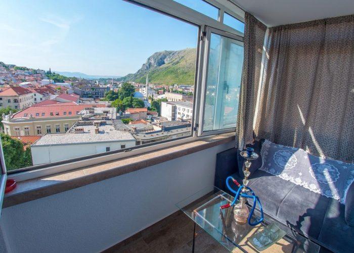 Blue Sky Apartman Mostar Balcon 2