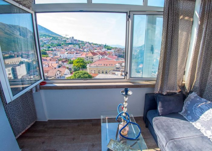 Blue Sky Apartman Mostar Balcon
